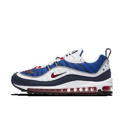 Мужские кроссовки Nike Air Max 98Мужские кроссовки Nike Air Max 98 — новая версия классической оригинальной модели. Их комбинированный верх и амортизирующая вставка Max Air во всю длину обеспечивают легкость и комфорт.<br>