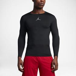 Мужская футболка с длинным рукавом Air Jordan All SeasonМужская футболка с длинным рукавом Air Jordan All Season из эластичной влагоотводящей ткани с эргономичными швами обеспечивает поддержку и компрессионную посадку, а такжекомфорт и полную свободу движений во время тренировок.<br>