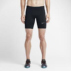 Мужские укороченные тайтсы для бега Nike Power TechМужские укороченные тайтсы для бега Nike Power Tech из эластичной влагоотводящей ткани с плоскими эргономичными швами обеспечивают комфортную и плотную посадку, не стесняя движений во время бега.<br>