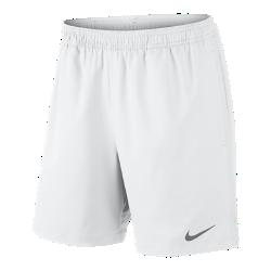 Мужские теннисные шорты NikeCourt 18 смМужские теннисные шорты NikeCourt 18 см обеспечивают прохладу и комфорт благодаря легкой влагоотводящей ткани и вставкам в области шагового шва для полной свободы движений.<br>