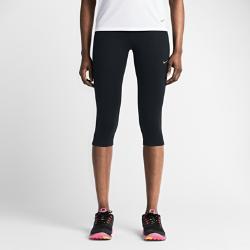 Женские капри для бега Nike Power EpicЖенские капри для бега Nike Power Epic обеспечивают удобную плотную посадку и отличную воздухопроницаемость от старта до финиша благодаря эластичной влагоотводящей ткани с сетчатыми вставками в ключевых зонах.<br>