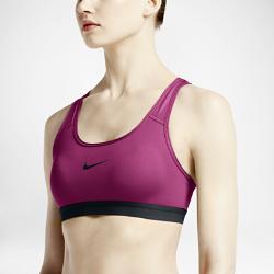 Спортивное бра со средней поддержкой Nike ClassicСпортивное бра со средней поддержкой Nike Classic с Т-образной спиной и компрессионной посадкой обеспечивает среднюю поддержку и полную свободу движений на протяжениивсей тренировки.<br>