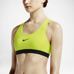 Спортивное бра со средней поддержкой Nike ClassicСпортивное бра со средней поддержкой Nike Classic с Т-образной спиной и компрессионной посадкой обеспечивает среднюю поддержку и полную свободу движений на протяжениивсей тренировки.  Надежная защита  Плотная посадка обеспечивает функциональную поддержку и фиксацию при тренировках средней интенсивности, таких как велотренировки, танцы и кардио.  Комфорт  Технология Dri-FIT отводит влагу с поверхности кожи, обеспечивая комфорт.  Свобода движений  Минималистичная конструкция с Т-образной спиной не стесняет движения и обеспечивает полный комфорт, позволяя полностью сконцентрироваться на тренировке.<br>