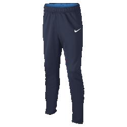 Футбольные брюки для школьников Nike AcademyФутбольные брюки для школьников Nike Academy обеспечивают комфорт и прочность во время тренировок и разминки.<br>