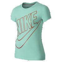 <ナイキ(NIKE)公式ストア> NEW ナイキ CAT HBR HD リード ガールズ Tシャツ 666154-370 ブルー 会員は送料無料画像