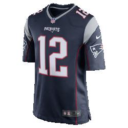 Мужское джерси для американского футбола для игры на своем поле NFL New England Patriots (Tom Brady)Мужское джерси для американского футбола NFL New England Patriots Game Jersey (Rob Gronkowski) с символикой команды и игрока, созданное под вдохновением от лучших игроков, обеспечивает абсолютный комфорт.<br>