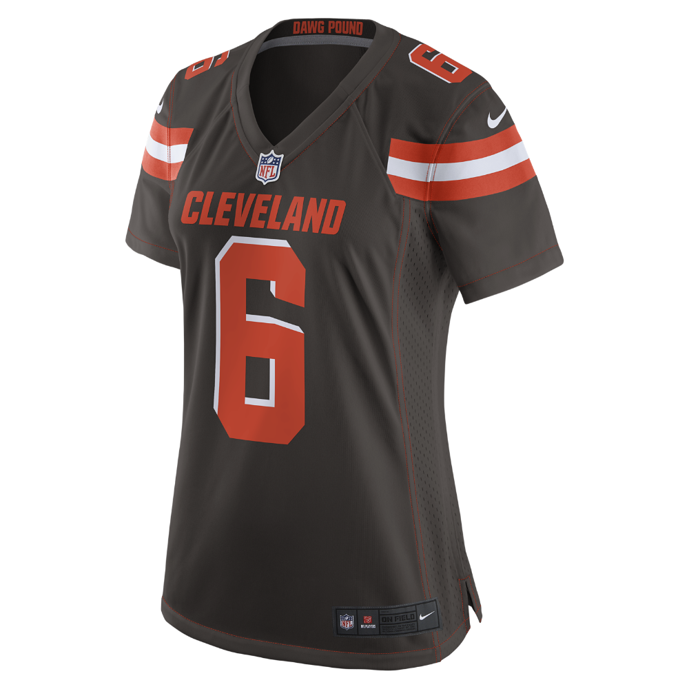 "los angeles b4cfb 32f52 Get the NIKE Cleveland Browns ""Baker Mayfield"" Game Jersey ..."