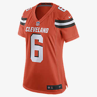 af7d8f41 NFL Cleveland Browns (Baker Mayfield). Women's Game Football Jersey