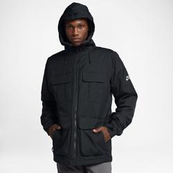Мужская куртка Nike SB EmpireМужская куртка Nike SB Empire с водо-и ветронепроницаемым покрытием защищает от снега, ветра и дождя. Вентиляционные отверстия в области подмышек обеспечивают воздухопроницаемость там, где это необходимо, а легкий синтетический наполнитель отлично защищает от холода у подножья и на высоте.<br>