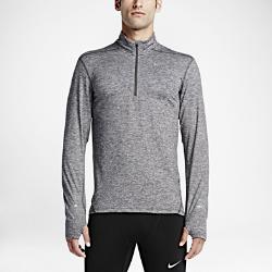 Мужская беговая футболка с длинным рукавом и молнией до середины груди Nike Dry ElementМужская беговая футболка с длинным рукавом Nike Dry Element изготовлена из влагоотводящей ткани для максимального комфорта, а молния до середины груди позволяет регулировать степень защиты.<br>