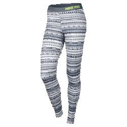 Женские тайтсы Nike Pro Warm 8 BitЖенские тайтсы Nike Pro Warm 8 Bit из мягкой эластичной ткани джерси с плотной посадкой и начесом позволяют сохранить тепло во время тренировок в холодную погоду.<br>
