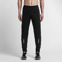 Мужские брюки для бега Nike Dri-FIT ShieldМужские брюки для бега Nike Dri-FIT Shield выполнены из водонепроницаемой ткани со вставками для защиты от ветра. Они сохраняют тепло и сохраняют тело сухим в любых условиях. Подкладка из ткани Nike Sphere Thermal обеспечивает исключительную защиту от холода и мягкость, а глубокие разрезы на молнии позволят быстро переодеться, если погода изменится.<br>