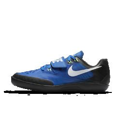 Кроссовки унисекс для метания Nike Zoom SD 4Благодаря регулируемому ремешку в средней части стопы и подошве из невероятно прочной углеродистой резины кроссовки унисекс для метания Nike Zoom SD 4 обеспечивают превосходную поддержку и сцепление для атлетов, применяющих техники вращения и скольжения в метательных видах спорта.<br>