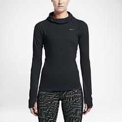 Женская беговая футболка с длинным рукавом Nike Dry ElementЖенская беговая футболка с длинным рукавом Nike Dry Element из влагоотводящей ткани закрывает шею, подбородок и голову, обеспечивая комфорт в холодную погоду.  Надежная посадка  «Водолазный» капюшон с удобной посадкой не ограничивает обзор во время бега. Увеличенный воротник защищает шею и подбородок от непогоды.  Комфорт  Технология Dri-FIT отводит влагу и обеспечивает комфорт.  Надежное хранение важных мелочей  Карман на молнии на левом плече подходит для надежного хранения важных мелочей, например ключей или банковской карты.<br>