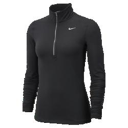 Женская беговая футболка с длинным рукавом Nike Dry ElementЖенская беговая футболка с длинным рукавом Nike Dry Element из мягкой влагоотводящей ткани обеспечивает комфорт километр за километром.<br>