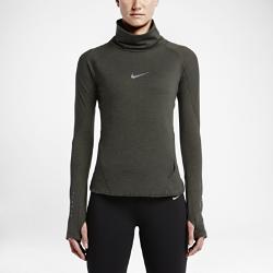 Женская футболка для бега с длинным рукавом Nike AeroReactЖенская футболка для бега с длинным рукавом Nike AeroReact из инновационной воздухопроницаемой ткани регулирует температуру тела на протяжении всей пробежки.  Адаптивная воздухопроницаемость  Ткань Nike AeroReact состоит из волокон, которые раскрываются при повышении температуры тела для увеличения воздухопроницаемости и закрываются после пробежки, обеспечивая оптимальную терморегуляцию во время бега.  Свобода движений  Специальная конструкция швов облегает фигуру, обеспечивая свободу движения.  Надежная посадка  Отверстия для больших пальцев обеспечивают фиксацию рукавов и дополнительную защиту от холода.<br>