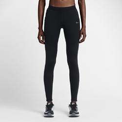 Женские тайтсы для бега Nike ShieldЖенские тайтсы для бега Nike Shield защищают от ветра и дождя благодаря накладкам Nike Shield. Изнанка с начесом сохраняет тепло. Эластичная конструкция обеспечивает полнуюсвободу движений, а светоотражающие элементы делают тебя заметнее во время пробежек ранним утром.<br>