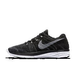 Мужские беговые кроссовки Nike Flyknit Lunar 3Мужские беговые кроссовки Nike Flyknit Lunar 3 гарантируют мягкую амортизацию и снабжены легким и прочным верхом Flyknit для непревзойденного комфорта, который позволит пробегать милю за милей.<br>