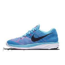 Женские беговые кроссовки Nike Flyknit Lunar 3Женские беговые кроссовки Nike Flyknit Lunar 3 гарантируют мягкую амортизацию и снабжены легким и прочным верхом Flyknit для непревзойденного комфорта, который позволит пробегать милю за милей.<br>