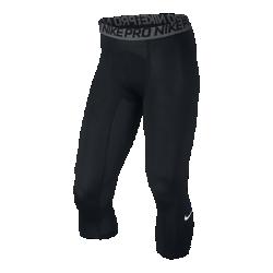 Мужские тайтсы для тренинга длиной 3/4 Nike ProМужские тайтсы для тренинга длиной 3/4 Nike Pro можно носить самостоятельно или в сочетании с другими элементами одежды: они обеспечивают прохладу и комфорт во время интенсивных тренировок и соревнований.<br>