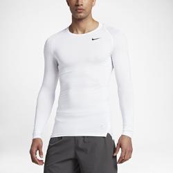 Мужская футболка для тренинга с длинным рукавом Nike ProМужская футболка для тренинга с длинным рукавом Nike Pro обеспечивает удобную плотную посадку для тренировки или игры благодаря эластичной влагоотводящей ткани и вставкам из сетки.<br>