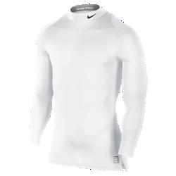 Мужская футболка Nike ProМужская футболка Nike Pro с воротником-стойкой создана из влагоотводящей ткани, которая тянется во всех направлениях, обеспечивает комфорт и не сковывает движений вовремя тренировки.<br>