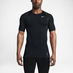 Мужская футболка для тренинга с коротким рукавом Nike ProМужская футболка для тренинга с коротким рукавом Nike Pro из эластичной ткани Dri-FIT с эргономичными швами плотно прилегает к телу, обеспечивая естественный комфорт.<br>