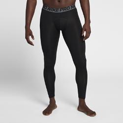 Мужские тайтсы для тренинга Nike ProМужские тайтсы для тренинга Nike Pro из эластичной ткани Dri-FIT с плоскими швами плотно прилегают к телу, обеспечивая превосходное отведение влаги, комфорт и свободу движений.<br>