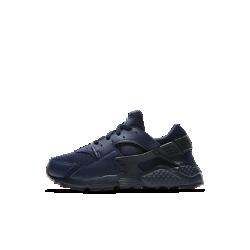 Кроссовки для дошкольников Nike HuaracheКроссовки для дошкольников Nike Huarache с легким комбинированным верхом, низким профилем и подошвой из пеноматериала обеспечивают прочность, комфорт и превосходную амортизацию.<br>