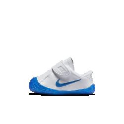 Обувь для малышей Nike Waffle 1Обувь для малышей Nike Waffle 1 из прочной натуральной кожи или замши обеспечивает комфорт, а благодаря ремешку в средней части стопы ее легко снимать и надевать. Преимущества  Верх из кожи или замши для прочности и комфорта Регулируемый ремешок в средней части стопы для удобства переобувания Тонкая резиновая подметка с текстурным рисунком обеспечивает надежное сцепление<br>