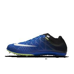 Шиповки унисекс для бега на средние дистанции Nike Zoom Mamba 3Шиповки унисекс Nike Zoom Mamba 3 созданы для бега с препятствиями на средние дистанции. Верх из однослойной сетки с открытыми ячейками и перфорированная стелька отводятвлагу во время бега. Гибкий супинатор из углеродного волокна и подошва Pebax&amp;#174;,состоящая из двух частей, обеспечивают плавность и естественную свободу движений.<br>