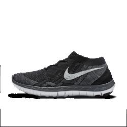 Женские беговые кроссовки Nike Free 3.0 FlyknitЖенские беговые кроссовки Nike Free 3.0 Flyknit, созданные для более естественных ощущений при беге, делают бег максимально комфортным благодаря низкопрофильной промежуточной подошве и легкому поддерживающему верху Flyknit.  Свобода движений  Шестигранные эластичные желобки обеспечивают шесть точек гибкости, способствуя естественным движениям стопы в любом направлении. Дополнительные вырезы в промежуточной подошве дарят естественную свободу движений.  Естественные движения  Кроссовки Nike Free 3.0 Flyknit отличаются самой низкопрофильной подошвой с перепадом между пяткой и передней частью стопы всего 4 мм и закругленной пяткой для более естественных движений при беге.  Поддержка  Прочный и легкий верх Flyknit с немного более свободным плетением обеспечивает плотную посадку, поддержку и естественный комфорт стопы. Нити Flywire, объединенные со шнуровкой, гарантируют дополнительную поддержку и индивидуальную посадку.  Другие преимущества  Литая стелька повторяет форму стопы для дополнительной поддержки Твердая резина в области пальцев обеспечивает сцепление и прочность Вафельная подошва гасит ударные нагрузки и обеспечивает амортизацию  Информация о товаре  Вес: 178 г (женский размер 39) Перепад промежуточной подошвы: 4 мм  ИСТОКИ NIKE FREE  Узнав, что спортсмены Стэнфордского университета тренируются босиком на поле для гольфа, трое самых изобретательных и креативных сотрудников Nike взялись за разработку кроссовок, которые бы не ощущались на ноге и сидели, словно вторая кожа. В 2002 году они провели эксперимент: прикрепив к ступням нескольких женщин и мужчин специальные стельки для измерения давления стопы, они запечатлели движение каждой ступни с помощью скоростных фотокамер. Восемь лет изобретатели изучали принципы движения стопы при беге босиком. В результате им удалось рассчитать степень давления стопы, естественный угол ее приземления и положение носка, что позволило дизайнерам Nike создать уникальные беговые кросс
