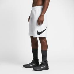 Мужские баскетбольные шорты Nike Swoosh 23 смМужские баскетбольные шорты Nike Swoosh 23 см из легкой влагоотводящей ткани со вставками из сетки и длиной выше колена обеспечивают длительный комфорт и естественную свободу движений.<br>