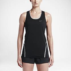 Женский топ для бега Nike CityЖенский топ для бега Nike City выполнен из шелковистой отводящей влагу ткани с лазерной перфорацией на спине для сохранения ощущения прохлады и сухости от старта до финиша.<br>