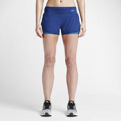 Женские шорты для бега Nike 2-in-1 7,5 смЖенские шорты для бега Nike 2-in-1 7,5 см создают ощущение комфорта на любой дистанции. Вшитые шорты обеспечивают дополнительную поддержку от старта до финиша.<br>