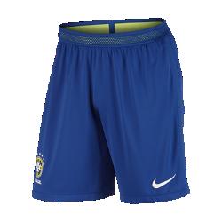 Мужские футбольные шорты 2016 Brasil CBF Match Home/AwayМужские футбольные шорты 2016 Brasil CBF Match Home/Away являются точной копией шорт, в которых выступают игроки сборной. Технология Nike Aeroswift&amp;#8212;сочетание высококачественной водоотталкивающей ткани и специальной конструкции&amp;#8212;помогает развить максимальную скорость на поле.<br>