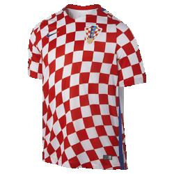 Мужская футбольная джерси 2016 Croatia Stadium HomeМужская футбольная джерси 2016 Croatia Stadium Home обеспечивает комфорт без утяжеления, когда ты болеешь за команду с трибун или просто идешь по улице.<br>