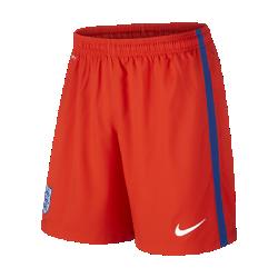 Мужские футбольные шорты 2016 England Stadium Home/AwayМужские футбольные шорты 2016 England Stadium Home/Away обеспечивают комфорт и вентиляцию во время игры.<br>