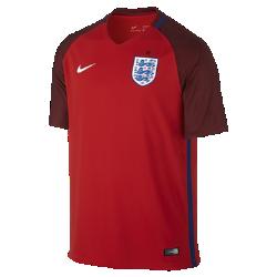Мужская футбольная джерси 2016 England Stadium AwayМужская футбольная джерси 2016 England Stadium Away изготовлена из легкой, воздухопроницаемой и комфортной влагоотводящей ткани. Это реплика классической формы с тканой эмблемой и фирменными деталями команды.<br>