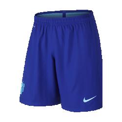 Мужские футбольные шорты 2016 Netherlands Stadium Home/AwayМужские футбольные шорты 2016 Netherlands Stadium Home/Away из воздухопроницаемой ткани Dri-FIT со вставками из эластичной сетки обеспечивают длительный комфорт и не стесняют движения.<br>