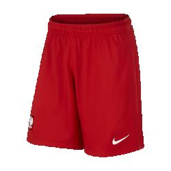 Мужские футбольные шорты 2016 Poland Stadium Home/AwayМужские футбольные шорты 2016 Poland Stadium Home/Away созданы для длительного комфорта и естественной свободы движений на поле.&amp;#160;<br>
