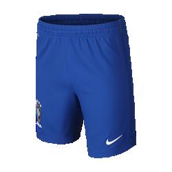 Футбольные шорты для школьников 2016 Brazil CBF Stadium Home/Away (XS–XL)Футбольные шорты для школьников 2016 Brazil CBF Stadium Home/Away созданы для длительного комфорта и естественной свободы движений на поле.<br>