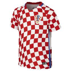 Футбольная джерси для школьников 2016 Croatia Stadium Home (XS–XL)Футбольная джерси для школьников 2016 Croatia Stadium Home из легкой воздухопроницаемой ткани обеспечивает комфорт во время игры и на каждый день.<br>