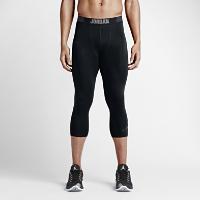 <ナイキ(NIKE)公式ストア> ジョーダン AJ オール シーズン コンプレッション スリークォーター メンズ トレーニングタイツ 724777-010 ブラック画像