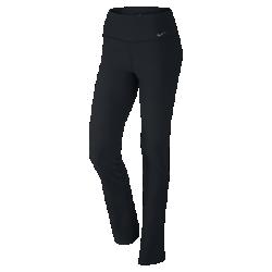Женские брюки для тренинга Nike Legend Poly SkinnyЖенские брюки для тренинга Nike Legend Poly Skinny изготовлены из эластичной влагоотводящей ткани для удобной посадки и фиксации во время тренировок. Средняя посадка и прямой крой штанин обеспечивают современный вид и выгодно подчеркивают фигуру.<br>