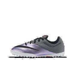 Футбольные бутсы для школьников для игры на газоне Nike Jr. MercurialX Pro (3.5Y–7Y)Футбольные бутсы для школьников для игры на газоне Nike Jr. MercurialX Pro с верхом Micro-Texture обеспечивают оптимальное касание мяча и взрывную скорость при игре на маленьком поле, а резиновые шипы гарантируют сцепление с синтетическими поверхностями.<br>