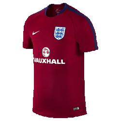Мужская игровая футболка England Flash TrainingМужская игровая футболка England Flash Training из влагоотводящей ткани со вставками из дышащей сетки обеспечивает прохладу и комфорт на поле и за его пределами. Фирменные детали и клубные цвета демонстрируют преданность любимой команде.<br>