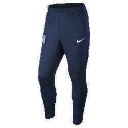 Мужские футбольные брюки England StrikeМужские футбольные брюки England Strike из влагоотводящей ткани с зауженным анатомическим кроем созданы для комфорта и свободы движений на поле.<br>