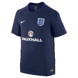 Игровая футболка с коротким рукавом для школьников England Flash (XS–XL)Игровая футболка с коротким рукавом для школьников England Flash из влагоотводящей ткани со вставками из дышащей сетки обеспечивает комфорт на поле.<br>