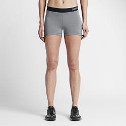 Женские шорты для тренинга Nike Pro 7,5 смЖенские шорты для тренинга Nike Pro 7,5 см обеспечивают исключительный комфорт как базовый или самостоятельный функциональный слой. Влагоотводящая ткань обеспечиваеткомфорт во время тренировок и соревнований.  АБСОЛЮТНЫЙ КОМФОРТ  Быстросохнущая ткань с технологией Dri-FIT отводит влагу от кожи.  СВОБОДА ДВИЖЕНИЙ  Плотно прилегающий эластичный пояс фиксирует шорты, а эластичная ткань и комфортные швы обеспечивают свободу движений.<br>